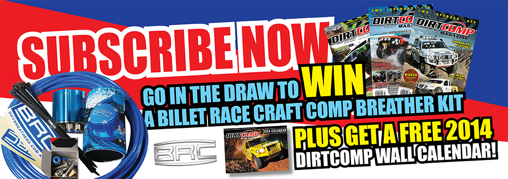 Subscribe and go in the draw to win PLUS receive a FREE 2014 Dirtcomp Calendar
