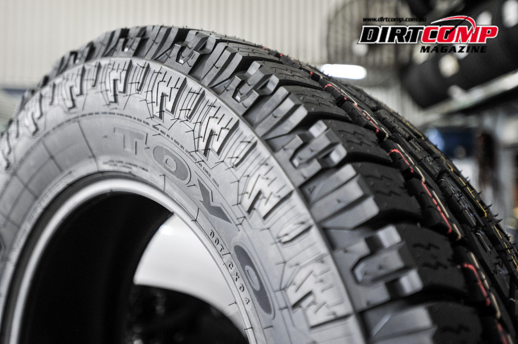 Toyo Open Country A/T II Dirtcomp Tyre Test
