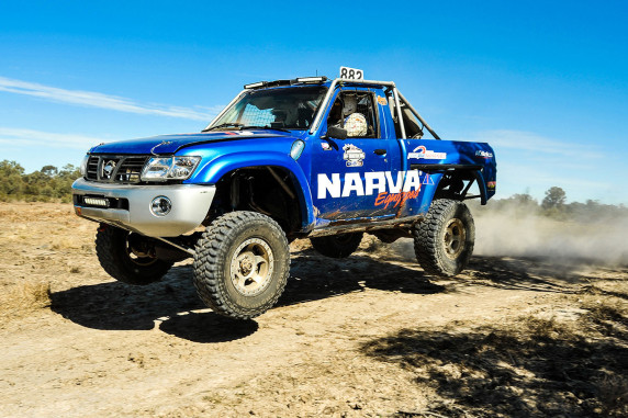 Mick Magher Motorsport is prepared for the ARB Series Curtain Raiser in Broken Hill