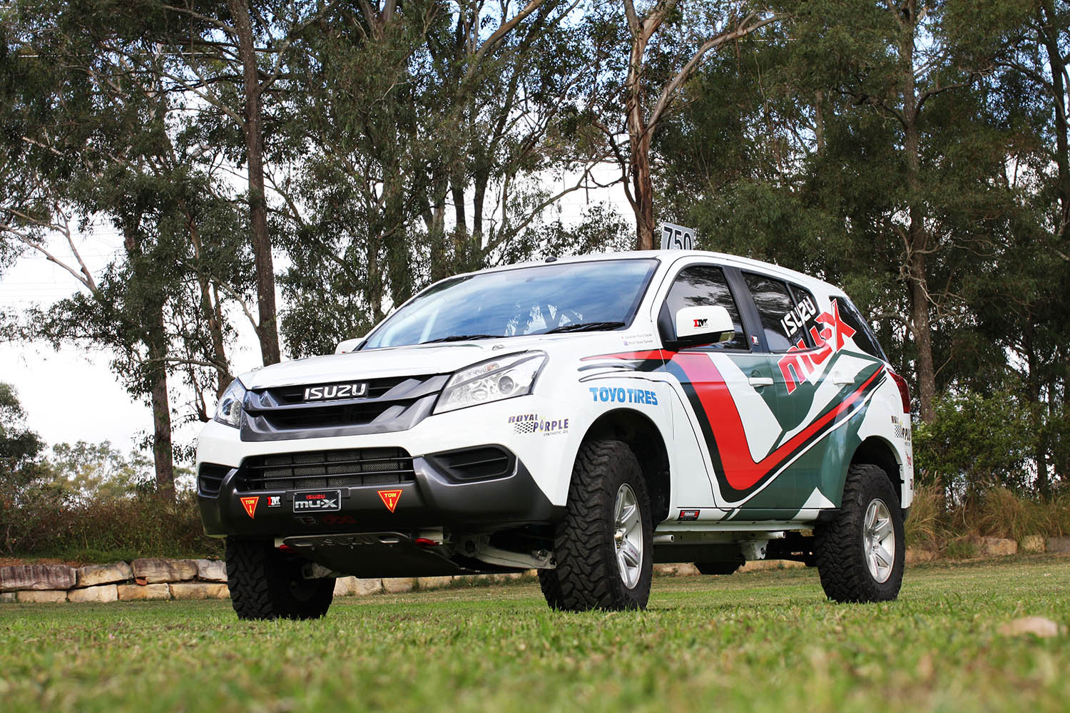 Garland to debut new Dakar spec Isuzu MU-X at Finke