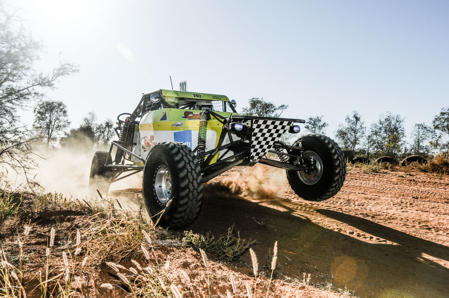 Chris Browning on the charge in his Super1650 Lothringer