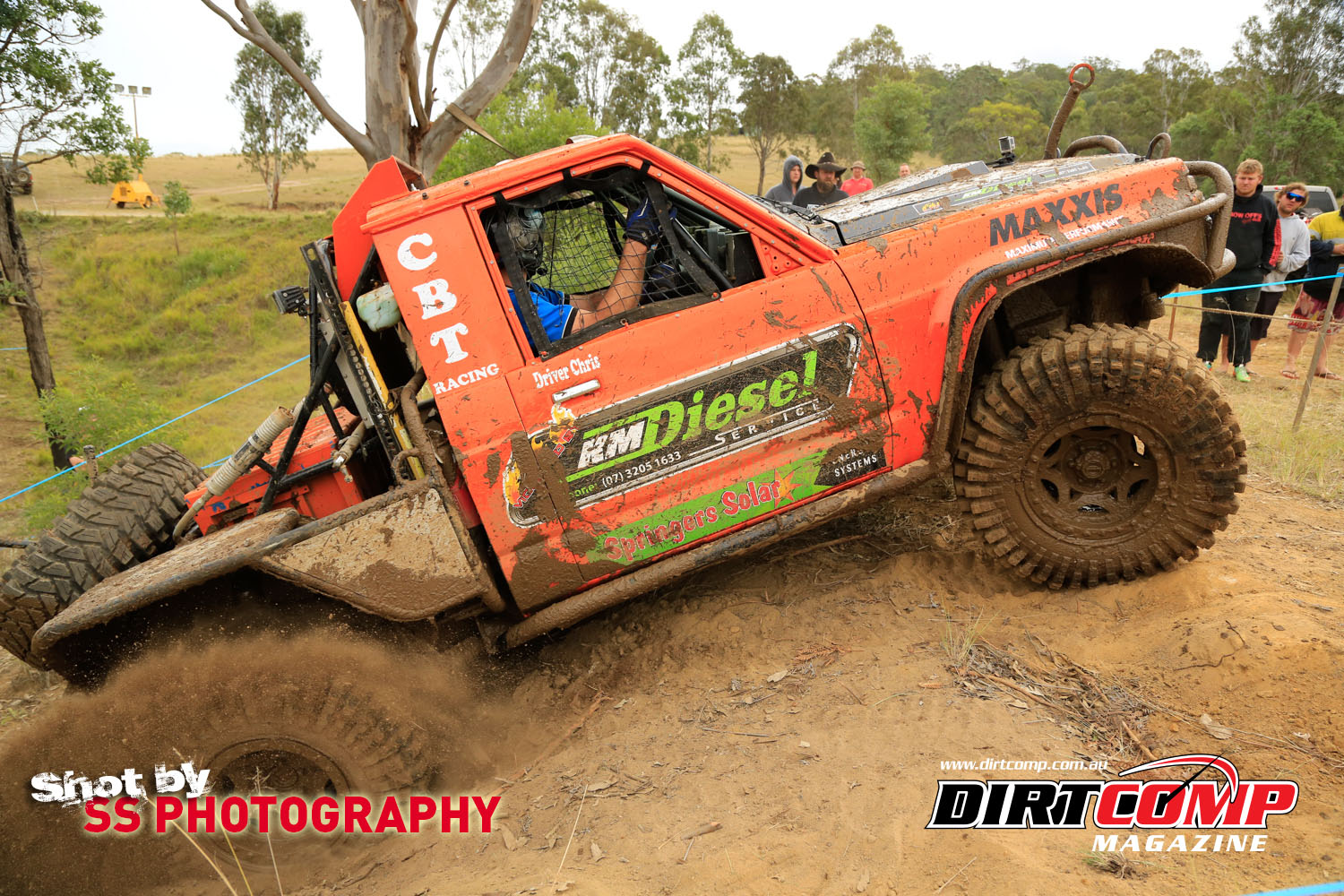 1st place at round 2 of the SSS Winch Challenge was CBT Racing