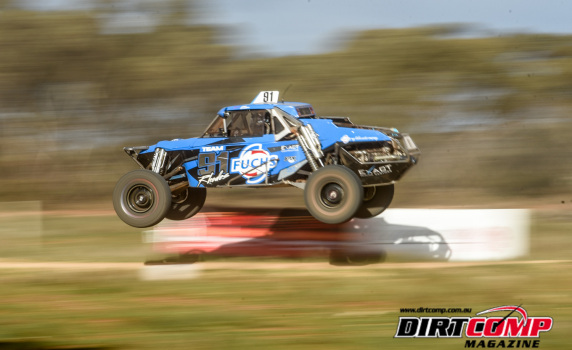 Jack Rhodes flying to victory in the #91 Rhodes Racing Jimco at the Waikerie Riverland Enduro