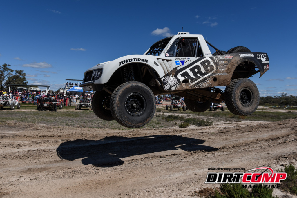 Mark Lacey took his first Extreme 2wd Class victory at Goondiwindi in the Micklefab Trophy Truck