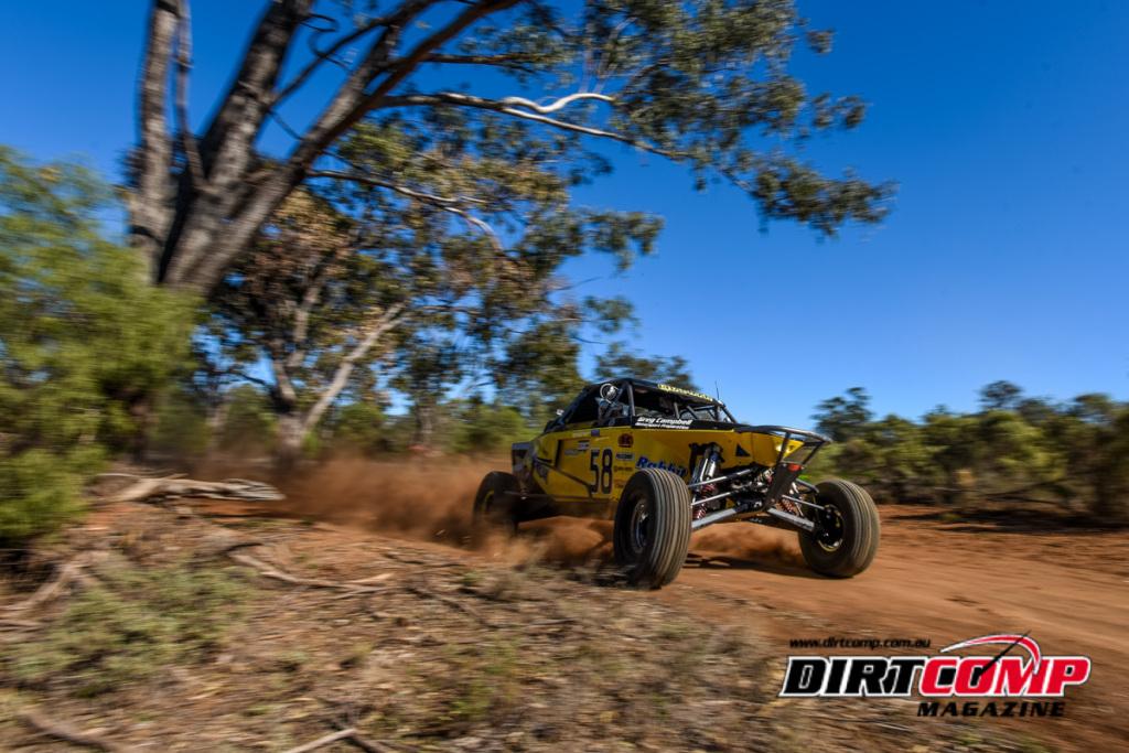 Bryce Chapman drifting the Runamuck Jimco into third outright