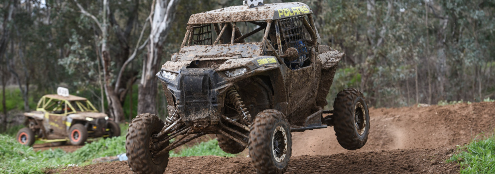 Simon Evans has reignited his rivalry with former ARC Champ Cody Crocker on the SXS platform