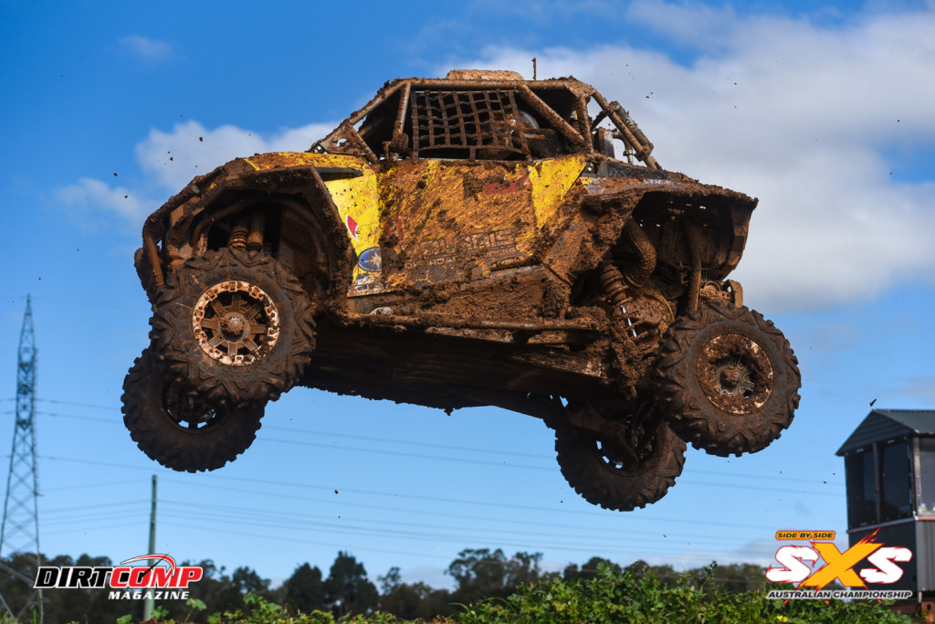Jackson Evans joined the SXS party at round 5 in Shepparton