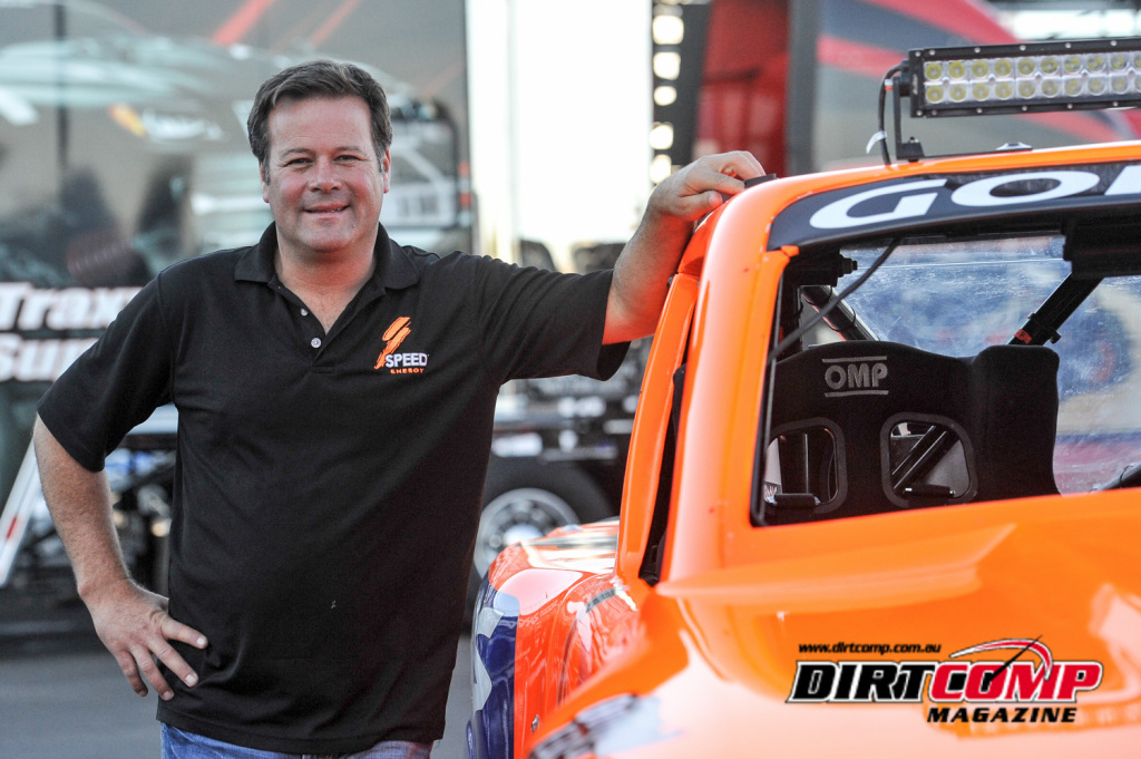 The man and mastermind behind the Speed Energy Stadium Super Trucks Series, Robby Gordon.
