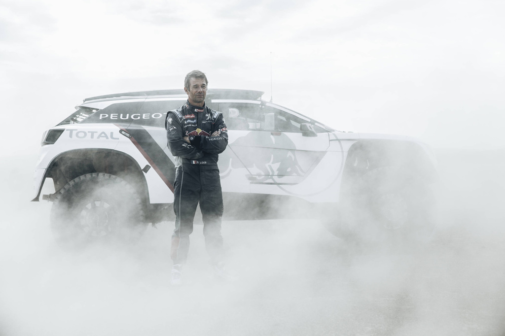 Sebastien Loeb from Team Peugeot Total  with the new Peugeot 3008 DKR // Flavien Duhamel/Red Bull Content Pool
