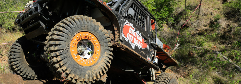 British Offroad powered their Landrover to the round 1 win of the Winch Truck Challenge in Central Queensland