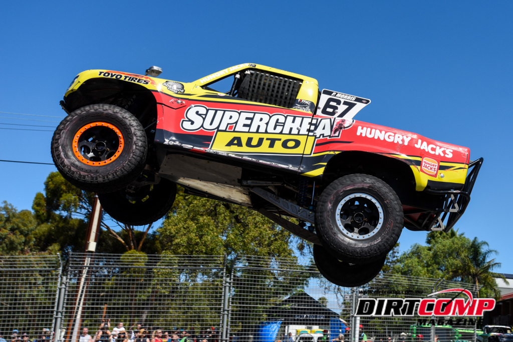 Paul Morris took the honours in the Supercheap Auto SST on Sundays grande finale at Clipsal