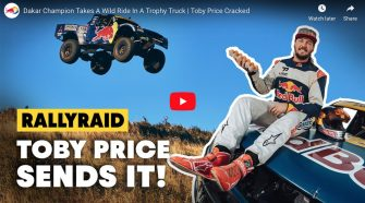 Toby Price Cracked - Trophy Truck