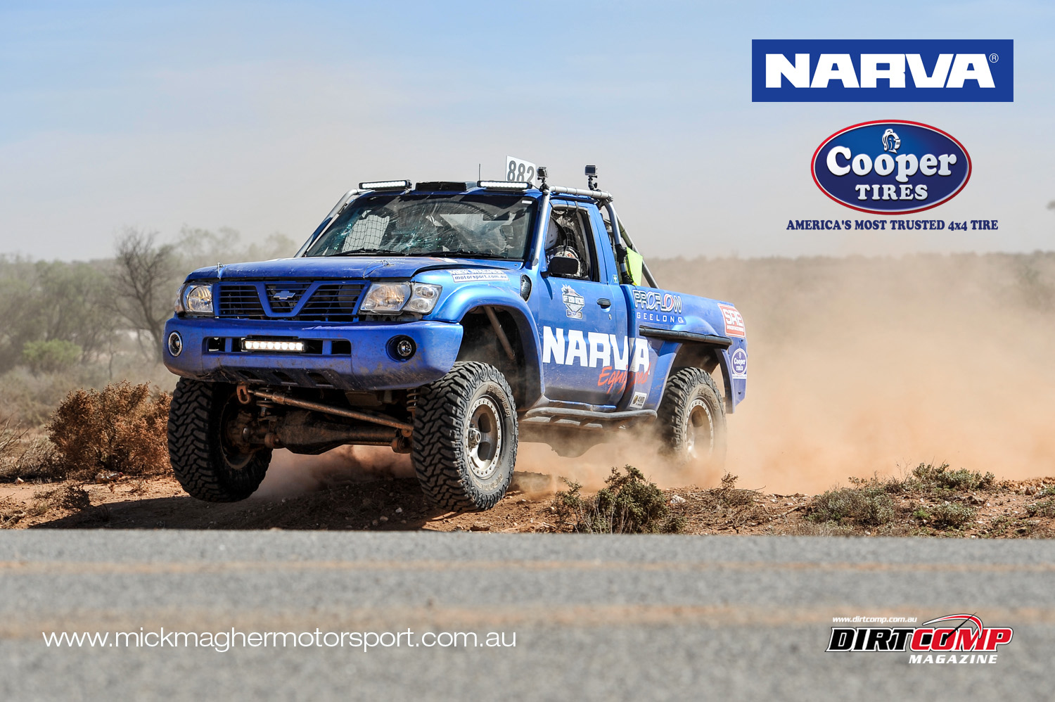 Narva Racing in action at the Paringa 400