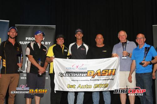 Auto Outright Podium with Event Sponsor